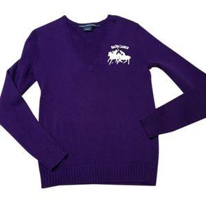 Ralph Lauren Sweaters - 🎉HP🎉 EUC Ralph Lauren purple sweater